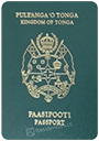 Passport index / rank of Tonga 2020