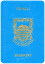 Passport of Tuvalu
