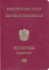 Passport of Austria