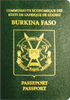 Passport of Burkina Faso