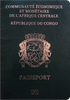 Passport of DR Congo