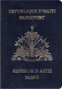 Passport of Haiti