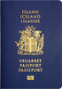 Passport of Iceland