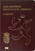 Passport of Luxembourg