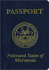 Passport of Micronesia