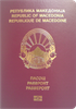 Passport of North Macedonia