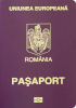 Passport of Romania