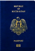 Passport of South Sudan