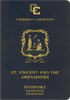 Passport of Saint Vincent and the Grenadines