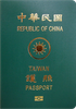 Passport of Taiwan