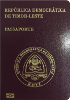 Passport of East Timor