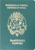 Passport of Tonga