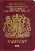 Passport of United Kingdom