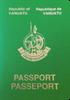 Passport of Vanuatu